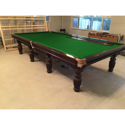 Sovereign Full Size Steel Block Cushion Snooker Table