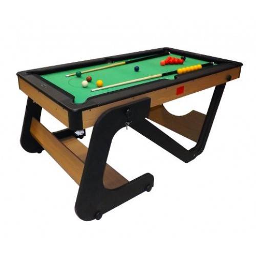 Riley 5ft home play folding snooker table for 10ft x 5ft snooker table