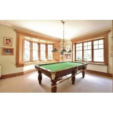 Thurston 8 Foot Turn Leg Snooker Table